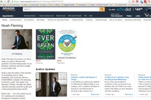 Amazon author profile