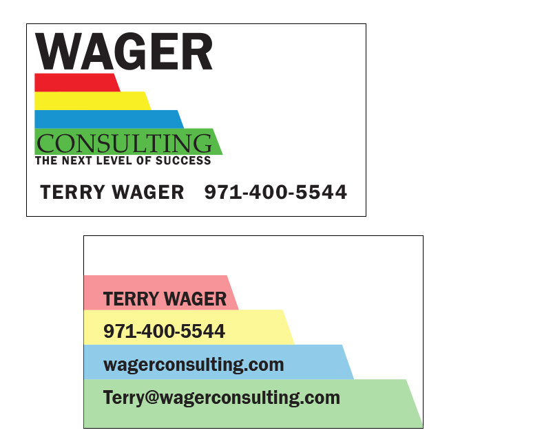 Wager Business Cards – final